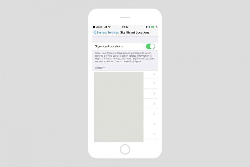 iPhone собирает данные о перемещениях пользователя! Как это прекратить?