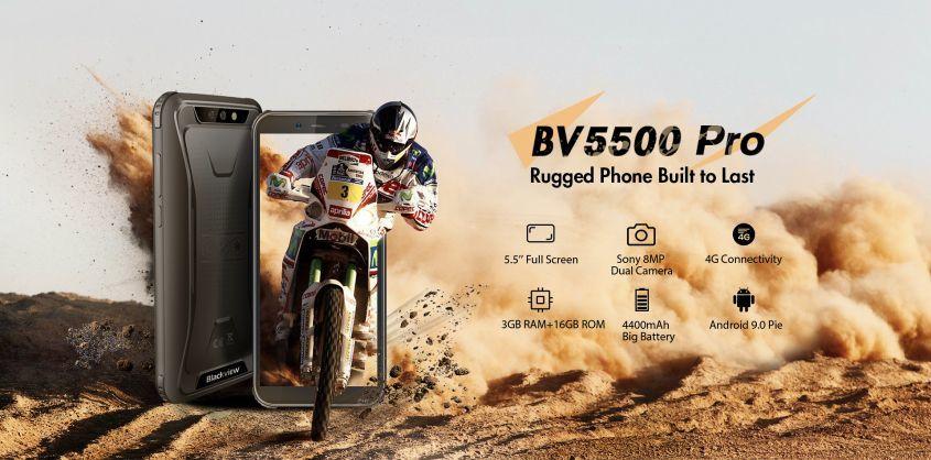 Новая свежая прочная модель Blackview BV5500 Pro, представлена как модернизированная модель BV5500