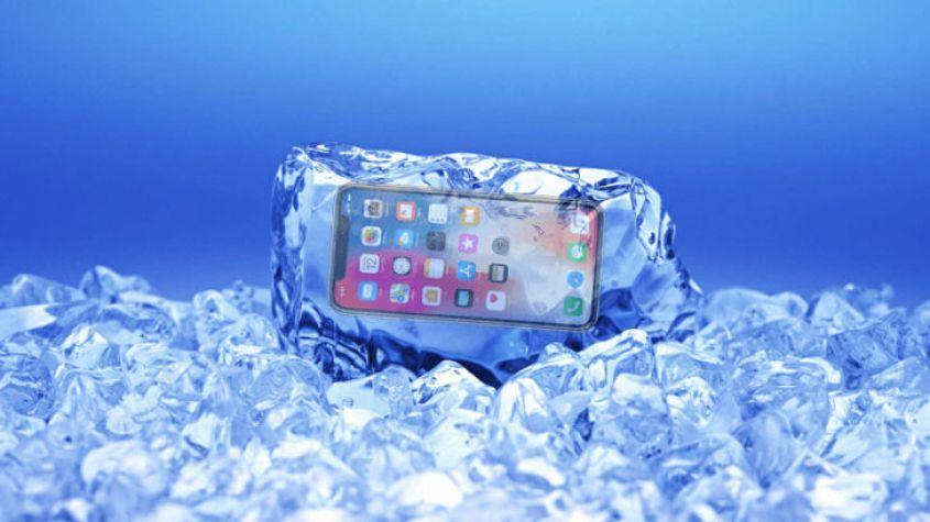 iPhone X замерзает при минусовой температуре. Мгновенно!
