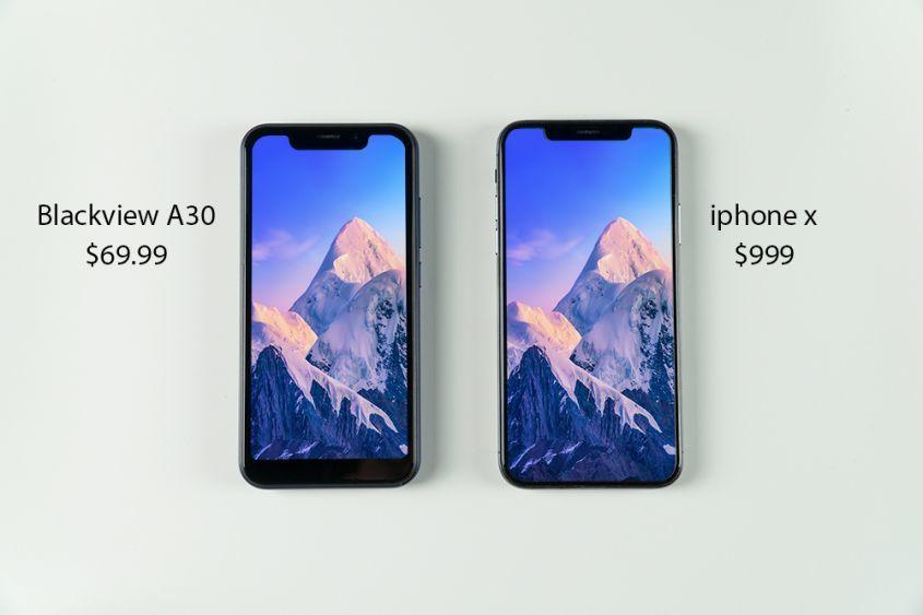 """Бюджет начального уровня """"iPhone X"""" всего 69.99$!"""
