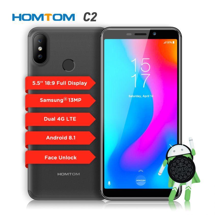 Старт продаж HomTom C2! Не упусти возможность купить красивый смартфон по специальной цене!