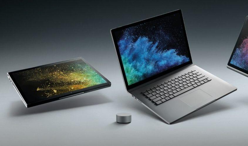 Microsoft обновила Surface Book 2 — мощь и компактность