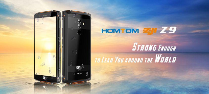 HomTom ZOJI Z9 уже продаже! Успей купить по акции всего за 229.99$.