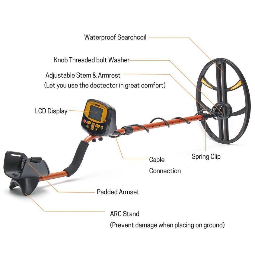 Выбираем качественный китайский металлоискатель: лучшие металлоискатели с Алиэкспресс