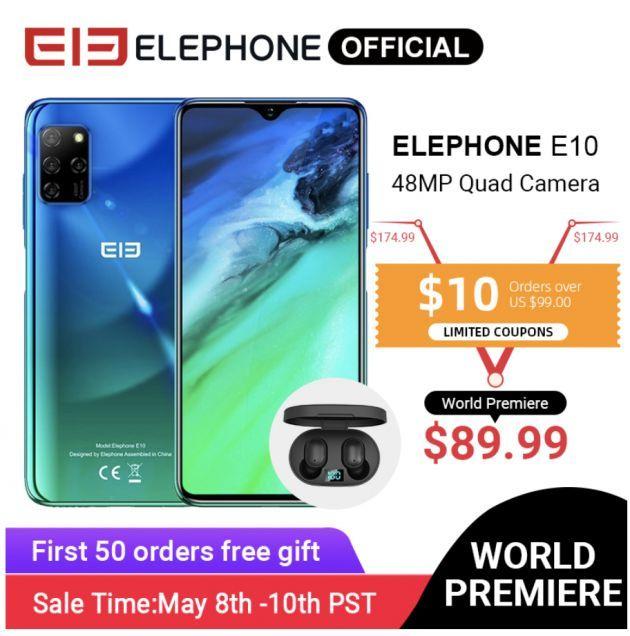 Смартфон Elephone E10