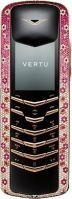 Vertu Signature M Design Rose Gold Pink Diamonds