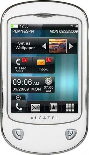 Alcatel One Touch 710 Chrome