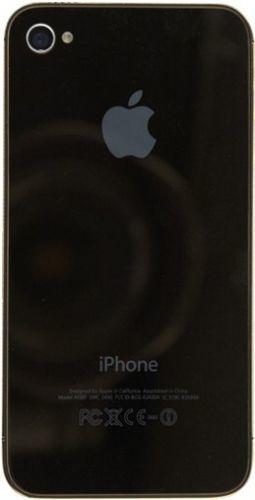 Apple iPhone 4S 16GB цирконы, зеркальная задняя крышка