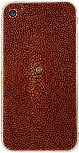Apple iPhone 4S 16GB позолота, кожа полированного ската