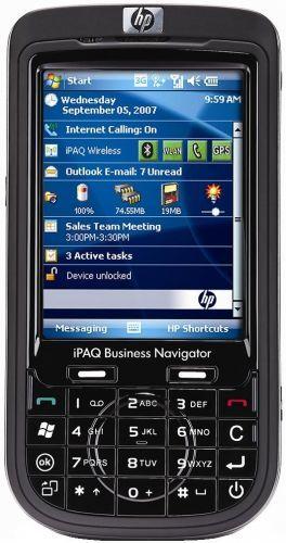 HP iPAQ 610c