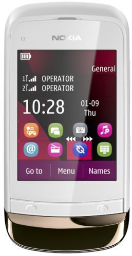 Nokia C2-03 Touch and Type Dual SIM