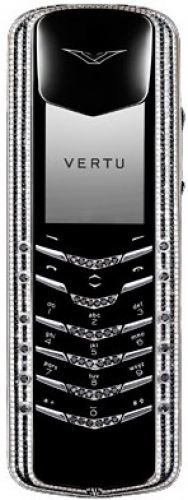 Vertu Signature M Design Black and White Diamonds